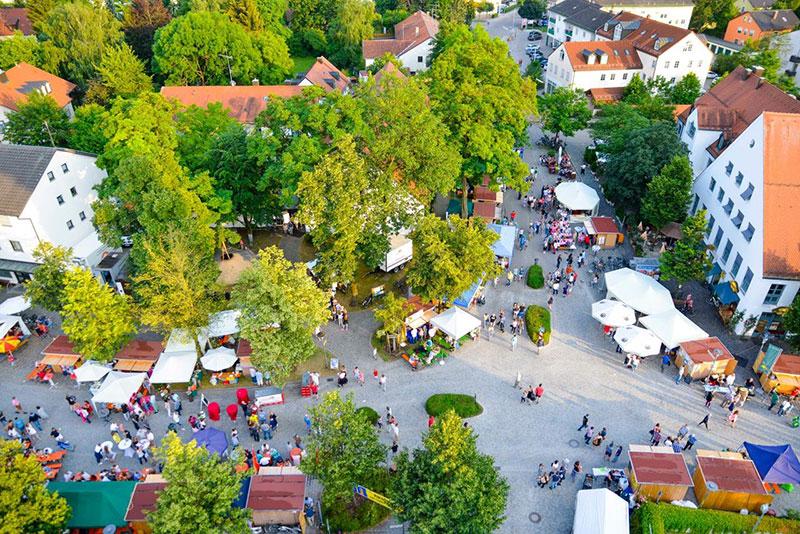 Dorffest 2015 Kran