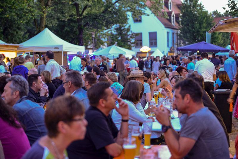 Dorffest 2015 Publikum
