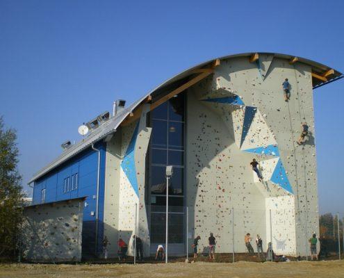 Kletterhalle High-east