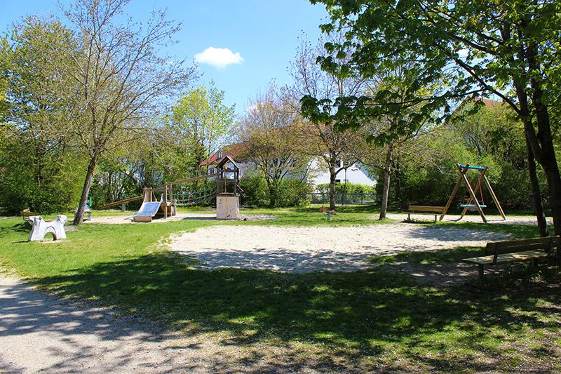Spielplatz Wasserturmstraße (Foto: Katharina Ruf)