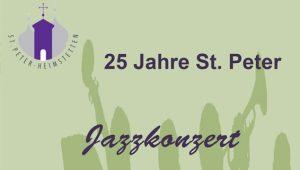 Jazzkonzert St. Peter