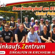 Beachvolleyball am REZ-Platz