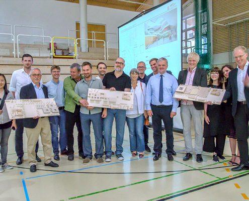 Architektenwettbewerb zur Erweiterung des Gymnasiums Kirchheim | Foto: Claudia Topel