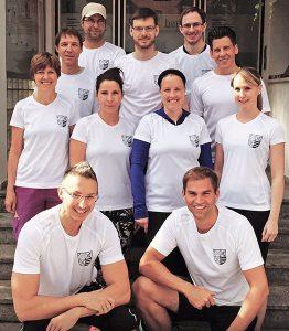 Das B2Run-Team 2016 der Gemeinde Kirchheim