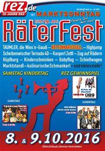 Räterfest Plakat
