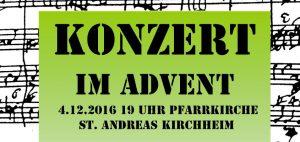 St. Andreas - Konzert im Advent