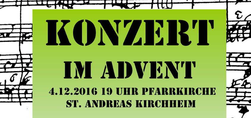 St. Andreas - Konzert im Advent