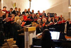 Ein Konzert zum Jubiläum: Der Cantate Chor erfreut seit 25 Jahren sein Publikum mit musikalischem Ohrenschmaus.