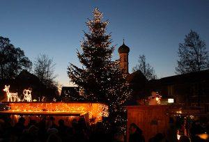 Schee auch ohne Schnee: Griabige Stimmung beim Kirchheimer Christkindlmarkt 2016.