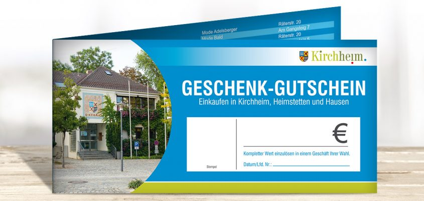 Kirchheimer Gemeindegutschein