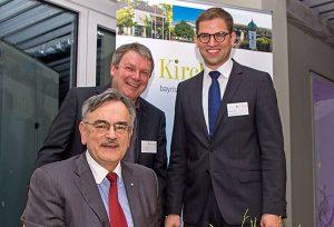 Starker Standort: Wirtschaftsempfang mit TU-Präsident Wolfgang A. Herrmann und vielen Gästen aus der Gemeinde