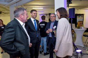 Wirtschaftsempfang 2017 - Netzwerk für Innovationen. Foto: Franz-Josef Seidl