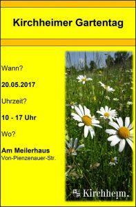 Kirchheimer Gartentag 2017