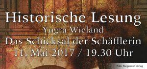 Historische Lesung mit Yngra Wieland in der Gemeindebücherei