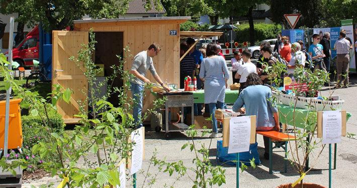 Erster Kirchheimer Gartentag am Meilerhaus. Foto: Katharina Ruf