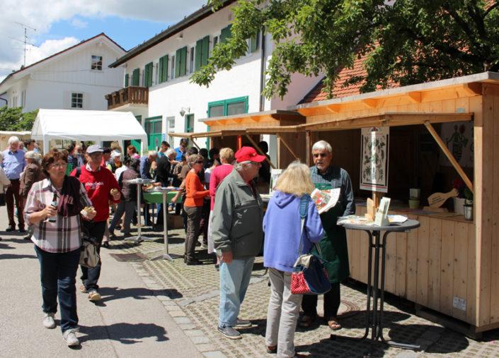 Erster Kirchheimer Gartentag 2017. Foto: Katharina Ruf