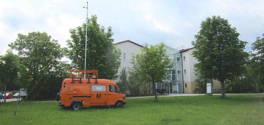 Fluglärmmessung in Kirchheim