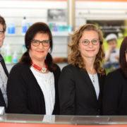 Peter Stumpf und sein Team: Astrid Gerstlberger, Melanie Wuschik und Katharina Messerschmidt (v.l.n.r.). Foto: Matthias Hoffmann