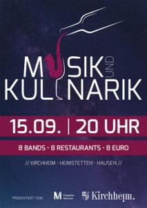 Musik und Kulinarik 2017