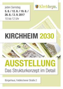 Kirchheim 2030 Ausstellung zum Strukturkonzept im Bürgerhaus