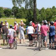 Die neue Heimat mit dem Rad erkunden: 2016 standen Stationen in Kirchheim, Heimstetten und Hausen auf dem Programm. In diesem Jahr geht es zum Speichersee und dem Hausner Wald.