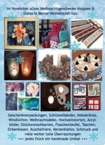1. Hobbykünstlermarkt im Bürgerhaus Heimstetten