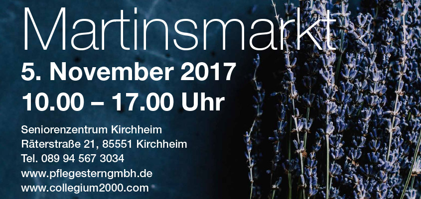 Martinsmarkt 2017 des collegium 2000