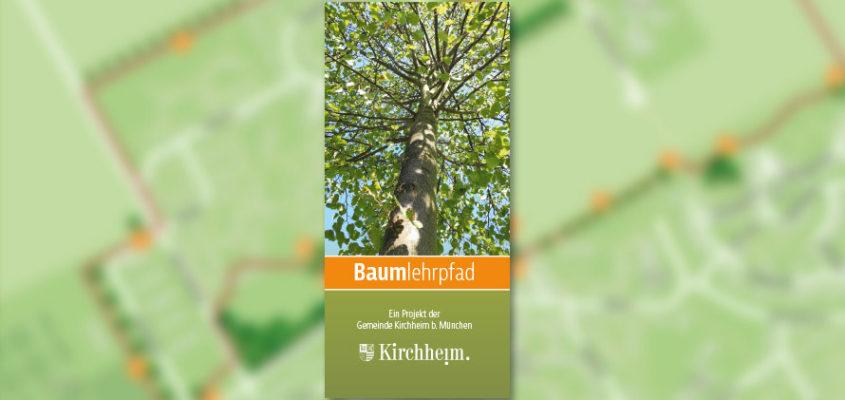 Der Baumlehrpfad wird eröffnet.