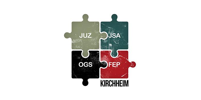 Logo JUZ-JSA-OGS-FEP Kirchheim