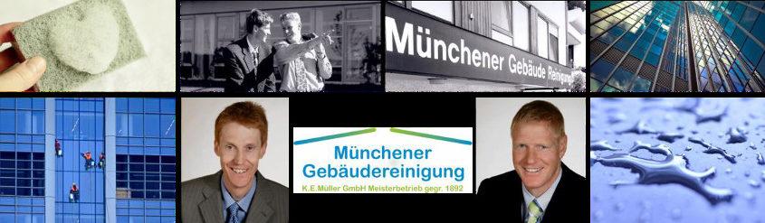 Das Familienunternehmen Münchner Gebäudereinigung K.E. Müller GmbH steht seit 125 Jahren für Qualität.
