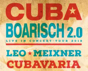 Plakat Cuba Boarisch 2.0