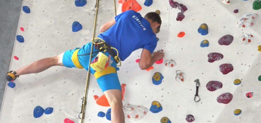 Auf zu sportlichen Höhen: Bei den Kirchheimer Klettermeisterschaften überzeugte der sportliche Nachwuchs in der Kletterhalle High-east in Heimstetten.