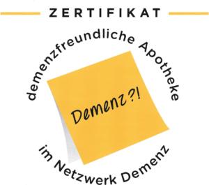 Logo Demenzfreundliche Apotheken in Kirchheim und Heimstetten