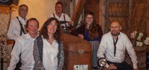 Dr. Hans Küster, Max Dietrich und Leni Böhm sowie dem Trio Tonale