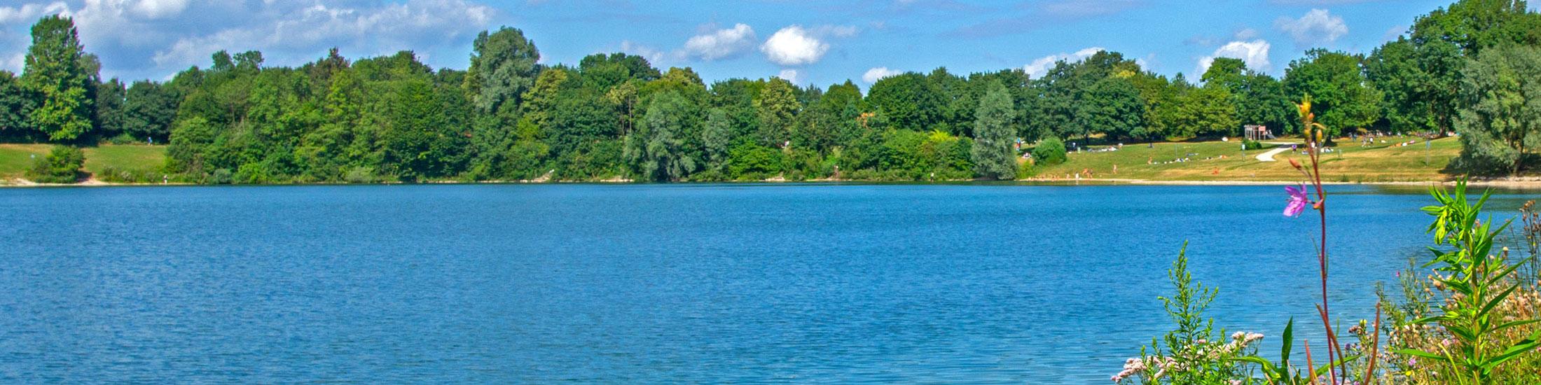 Das Erholungsgebiet Heimstettener See