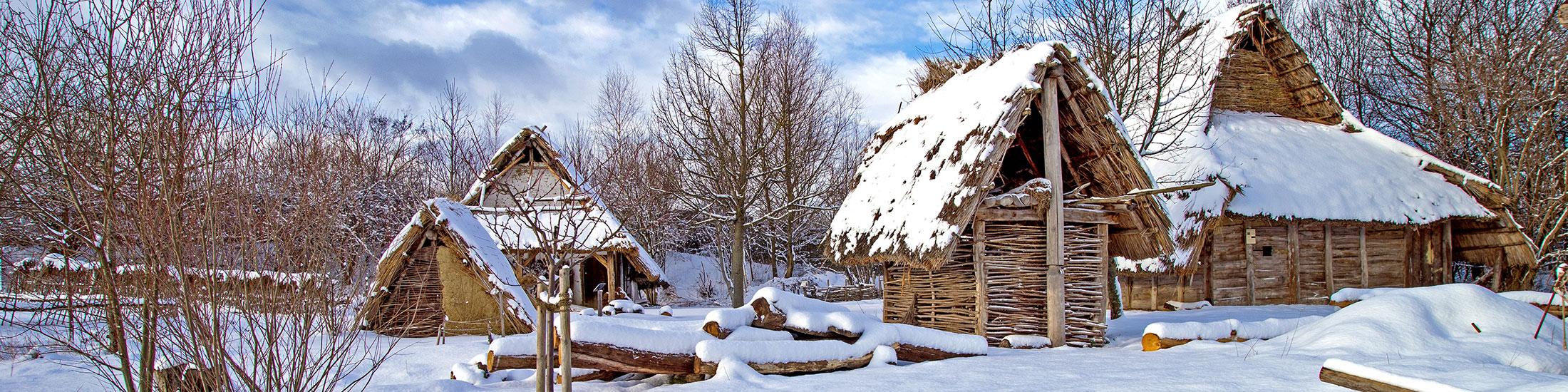 Der Bajuwarenhof Kirchheim im Winter