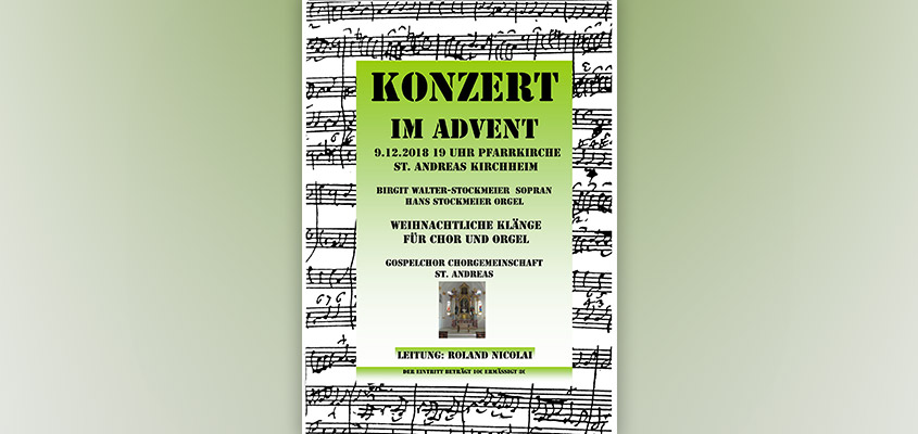 Konzert im Advent 2018