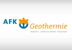 Logo der AFK Geothermie