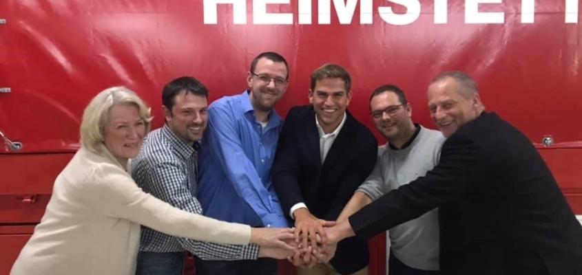 Hand in Hand: Das neue Führungsduo der Freiwilligen Feuerwehr