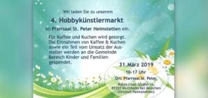 4. Hobbykünstlermarkt