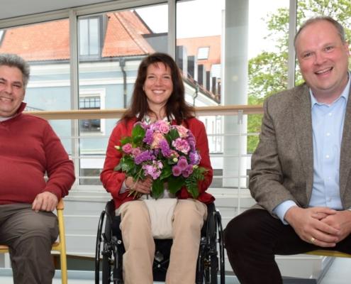 Neue Behindertenbeauftragte für den Landkreis München