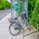Anlehnbügel für Fahrräder an Bushaltestellen