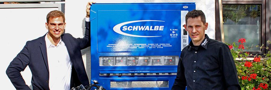 Schlauchautomaten bei Reifenpannen