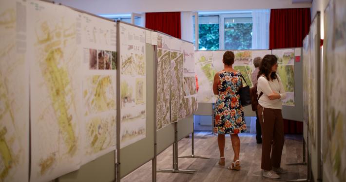 Ausstellung zur Landesgartenschau 2024