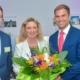 Beim Wirtschaftsempfang der Gemeinde Kirchheim: genua-Geschäftsführer