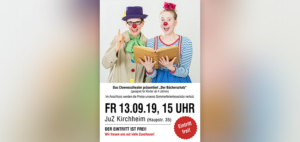 Clownesstheater im JuZ Kirchheim