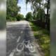 Auf Schutzstreifen werden Radfahrer sichtbar