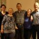Nach der Wahl: alter und neuer Vorstand. Von links nach rechts: Sabine Nagl, Anja Pütz, Claudia Fischer, Tobias Brendle, Christine Lindele, Gerd Kleiber.