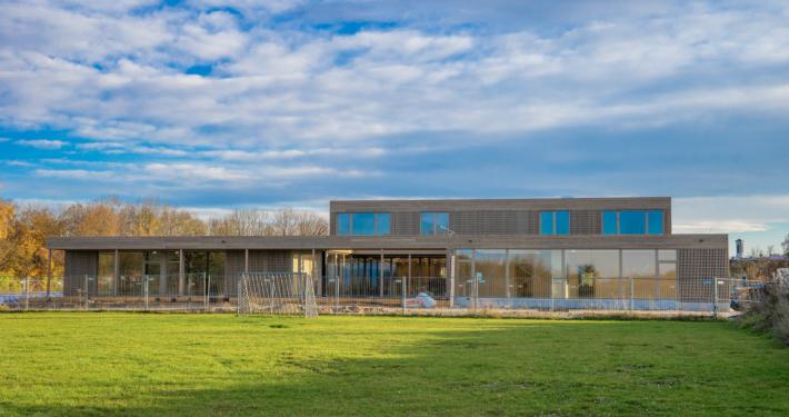 Ab Januar wird hier gespielt, getobt, gelernt: Das neue Haus für Kinder startet im Januar den Betrieb.