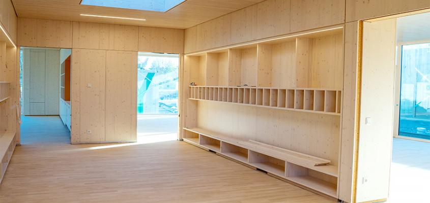 Das 2019 fertig gestellte Haus für Kinder in Kirchheim.